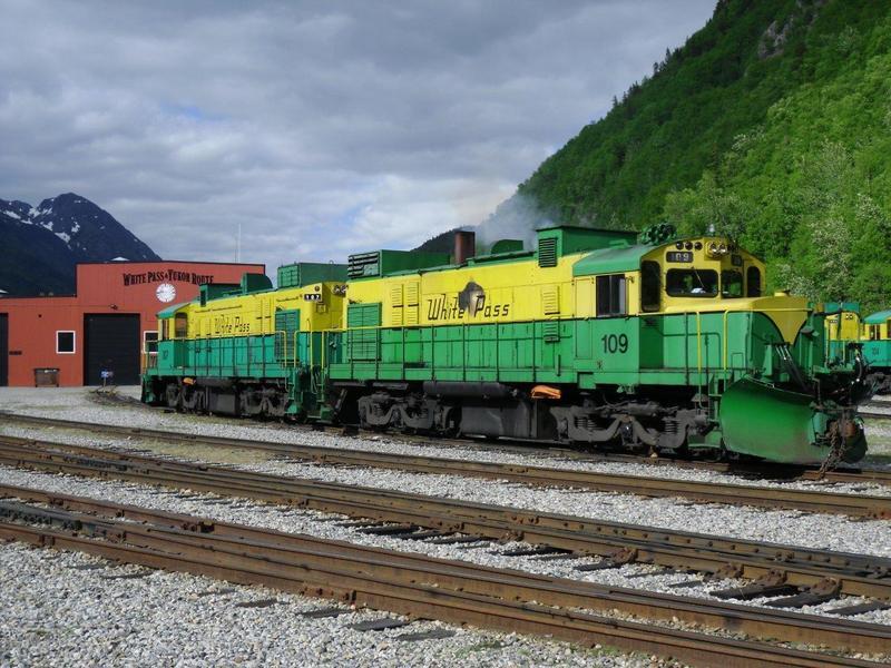 Schmalspurbahnen in Nordamerika - Teil 1 7660913vus