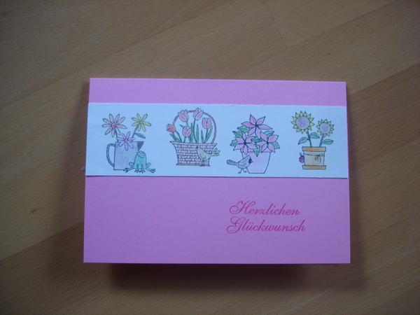 Eine Geburtstagskarte 7675931qos