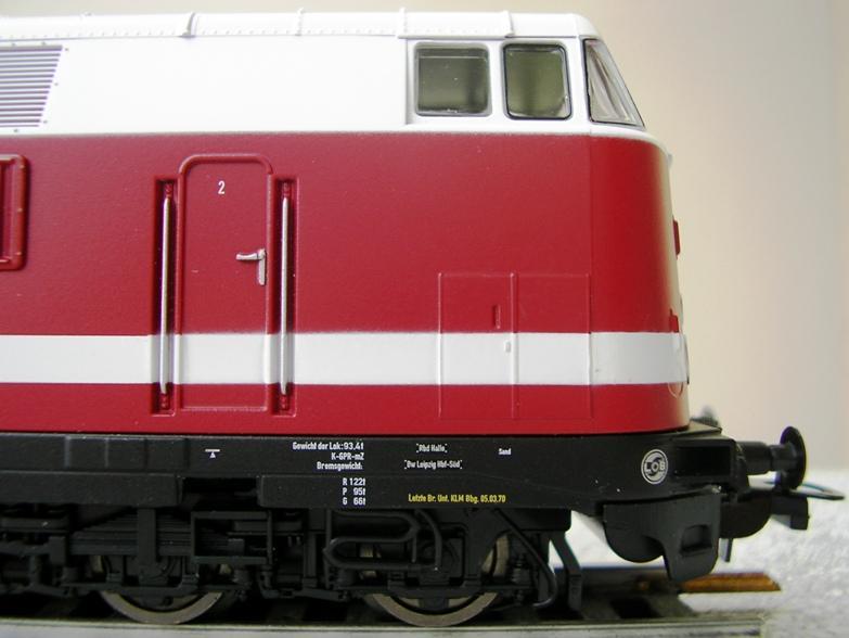 DR Baureihe 118.4 6-achsig 7713296obm