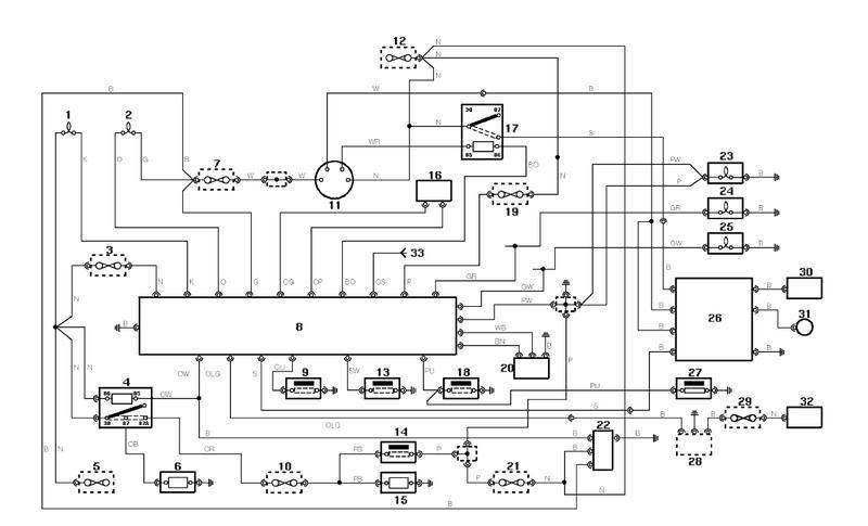 elektrische Abschaltung 2,5 Saugdiesel