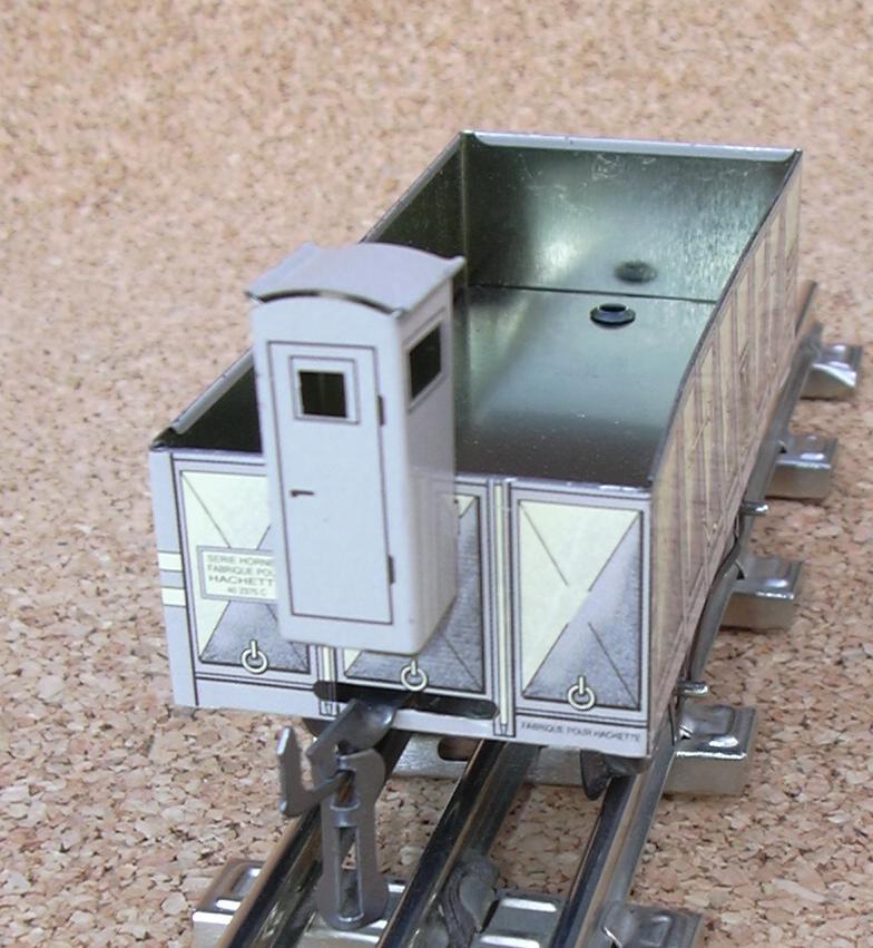 Hornby Spur 0 offener Güterwagen m. Bremserhaus 7775691ikw