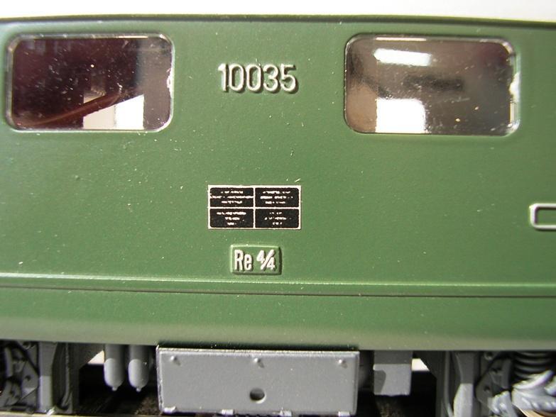HAG SBB Re 4/4 I 10035 7830428sdx
