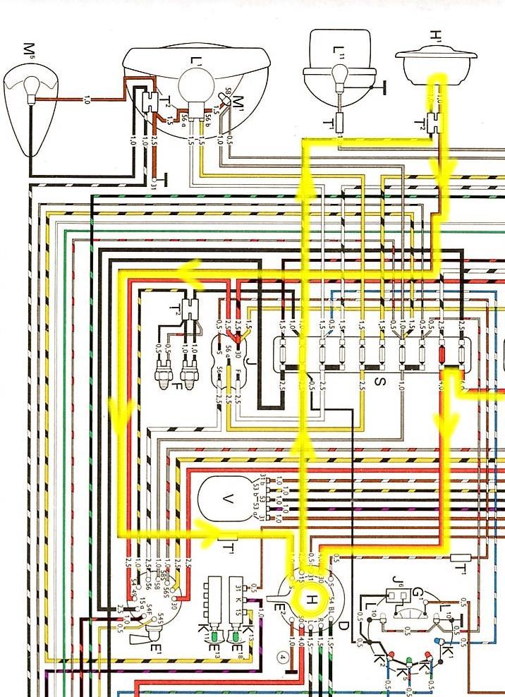 Berühmt 73 Vw Käfer Schaltplan Zeitgenössisch - Elektrische ...
