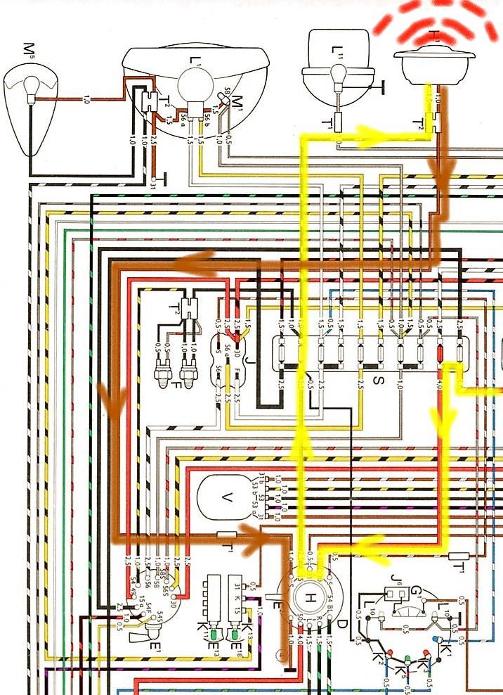 Schön 73 Vw Käfer Schaltplan Ideen - Elektrische Schaltplan-Ideen ...