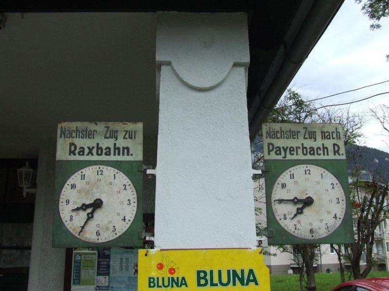 Sonderfahrten auf der Höllentalbahn Payerbach-Hirschberg 7961399zor