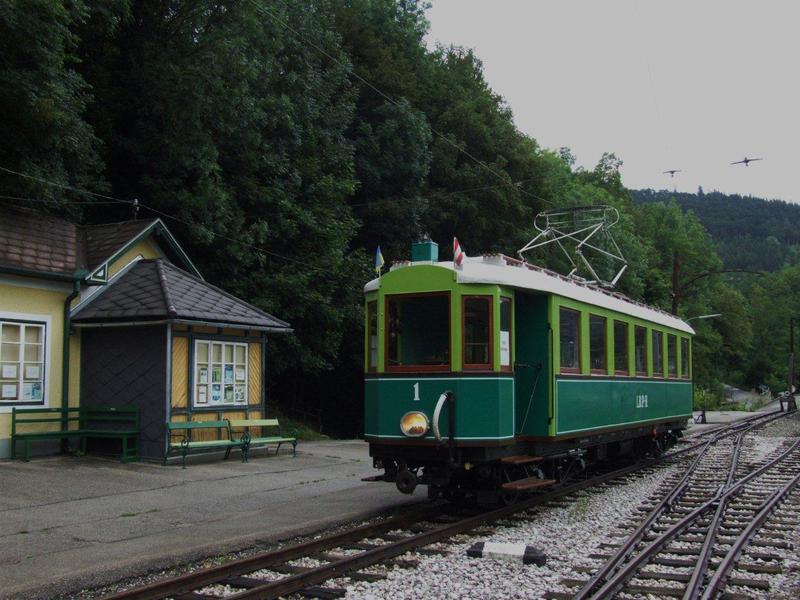 Sonderfahrten auf der Höllentalbahn Payerbach-Hirschberg 7961402tfx