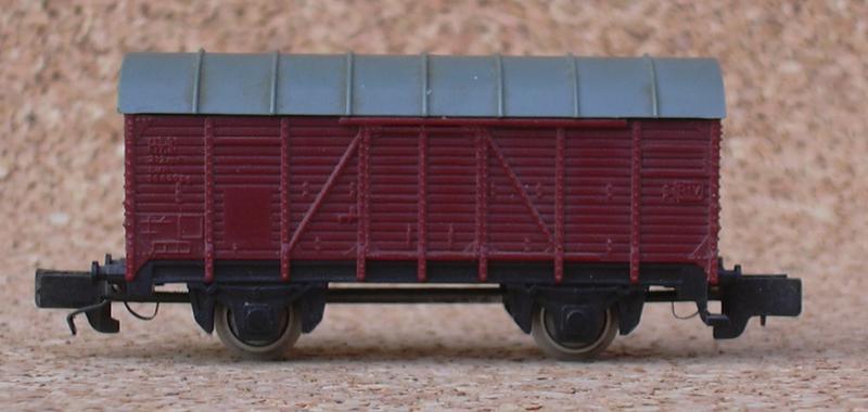 Rokal Spur TT Gedeckter Güterwagen Gr 7969339wro