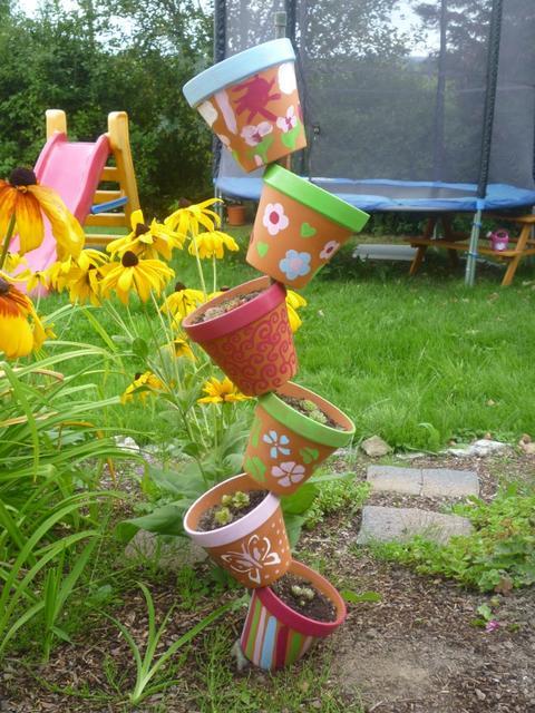 Gartendeko selbstgemacht for Gartendekoration selbstgemacht