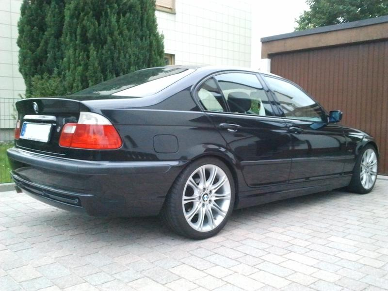 meine e46 limo mit m1 paket 3er bmw e46 limousine. Black Bedroom Furniture Sets. Home Design Ideas