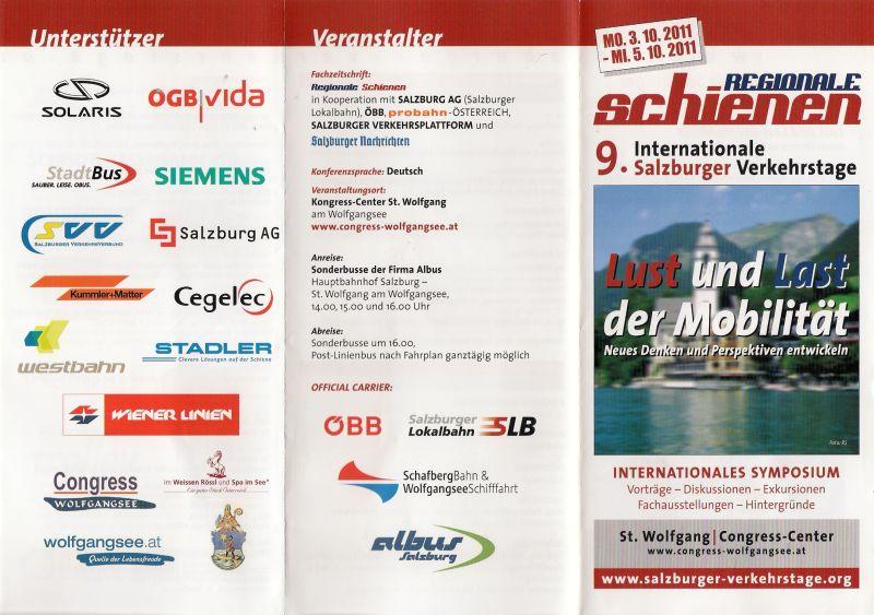 Auszug aus den Beiträgen der 37. Kalenderwoche 2011  8225833clm