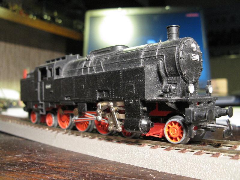 Kleinbahn 78-er ,total umgebaut und gesupert  8266937toy