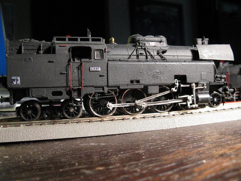 Kleinbahn 78-er ,total umgebaut und gesupert  8266981zmp