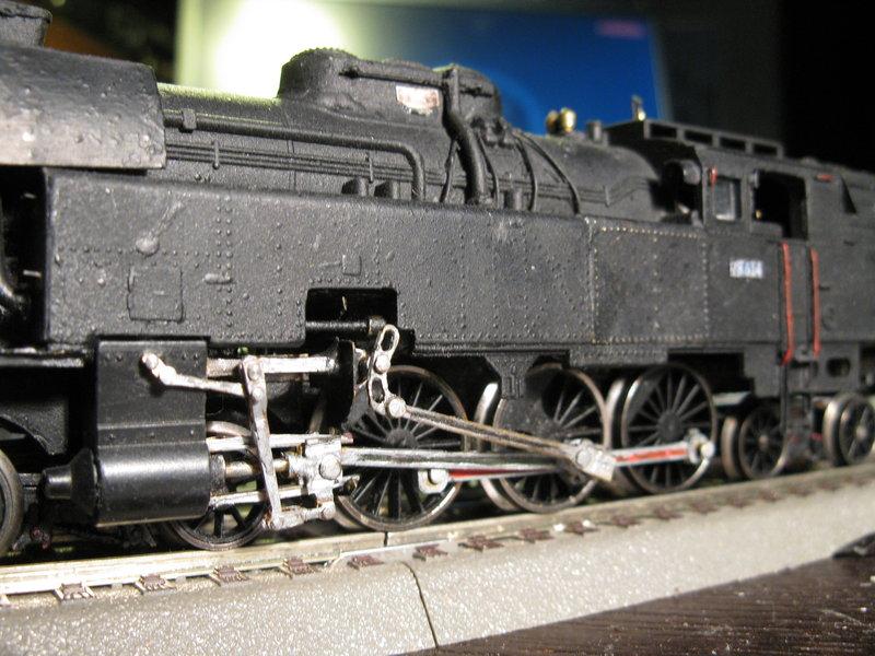 Kleinbahn 78-er ,total umgebaut und gesupert  8267044ahl