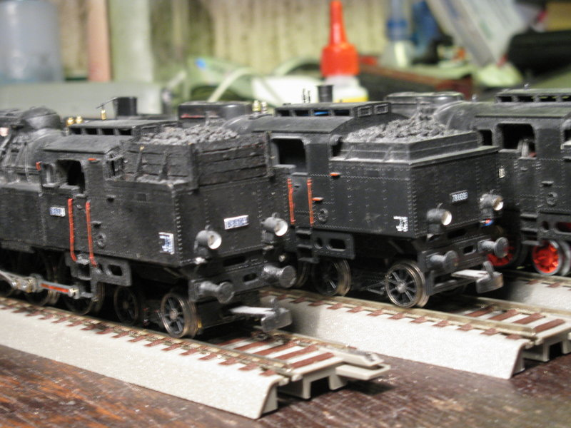 Kleinbahn 78-er ,total umgebaut und gesupert  8267219pln