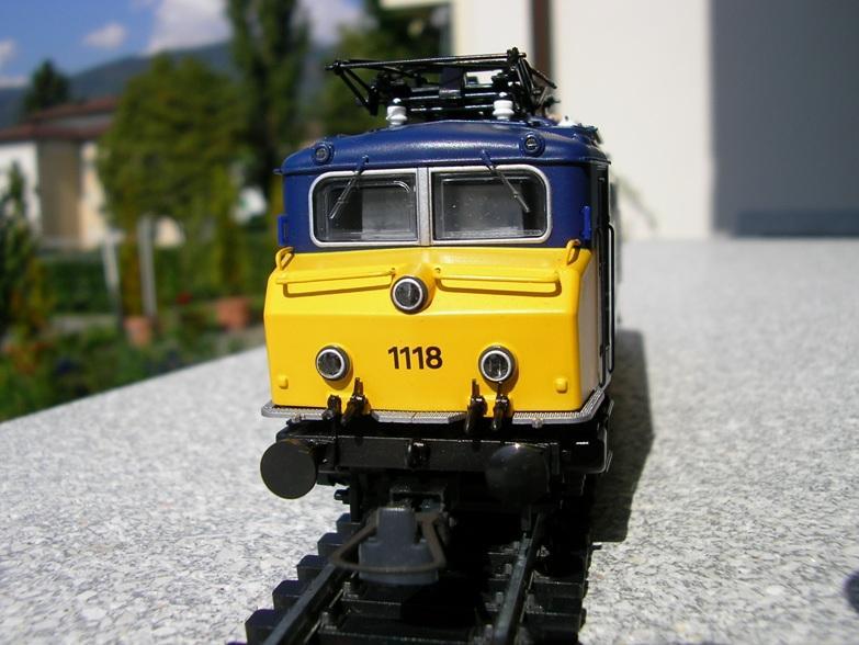 NS Serie 1110 blau / gelb Betriebsnummer 1118 8309936wme