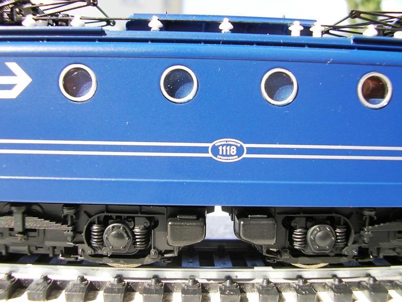 NS Serie 1110 blau / gelb Betriebsnummer 1118 8309939blg