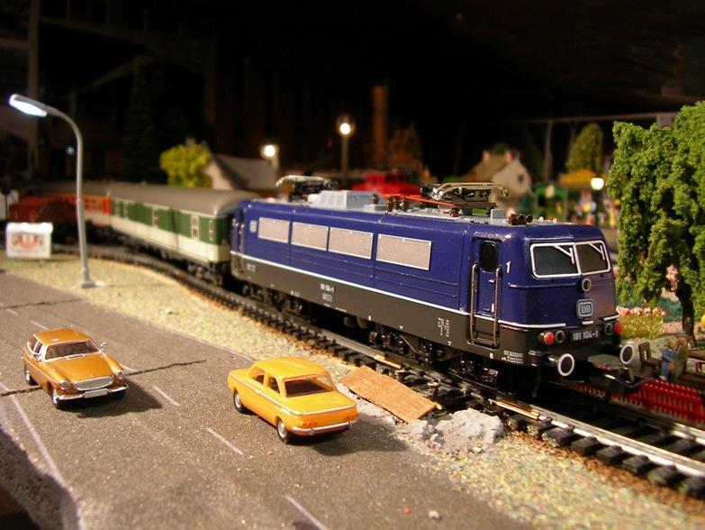 Trix DB BR 181 104-1 8398001pfr