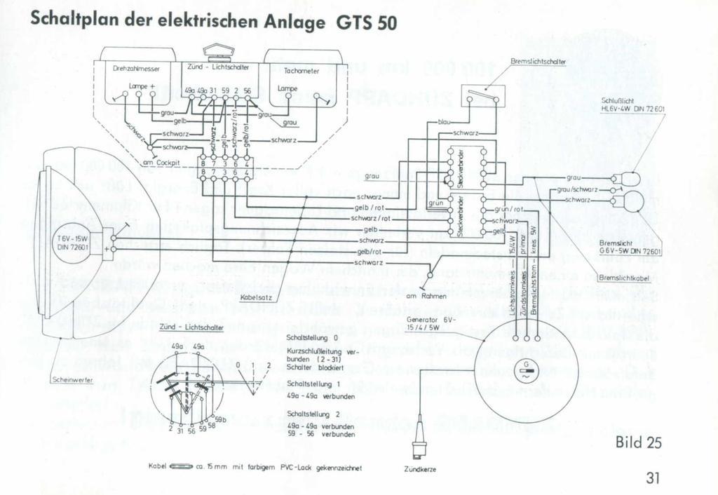 C50 Sport, Problem mit Schalter! - Reparatur Board - Mofa und Moped ...