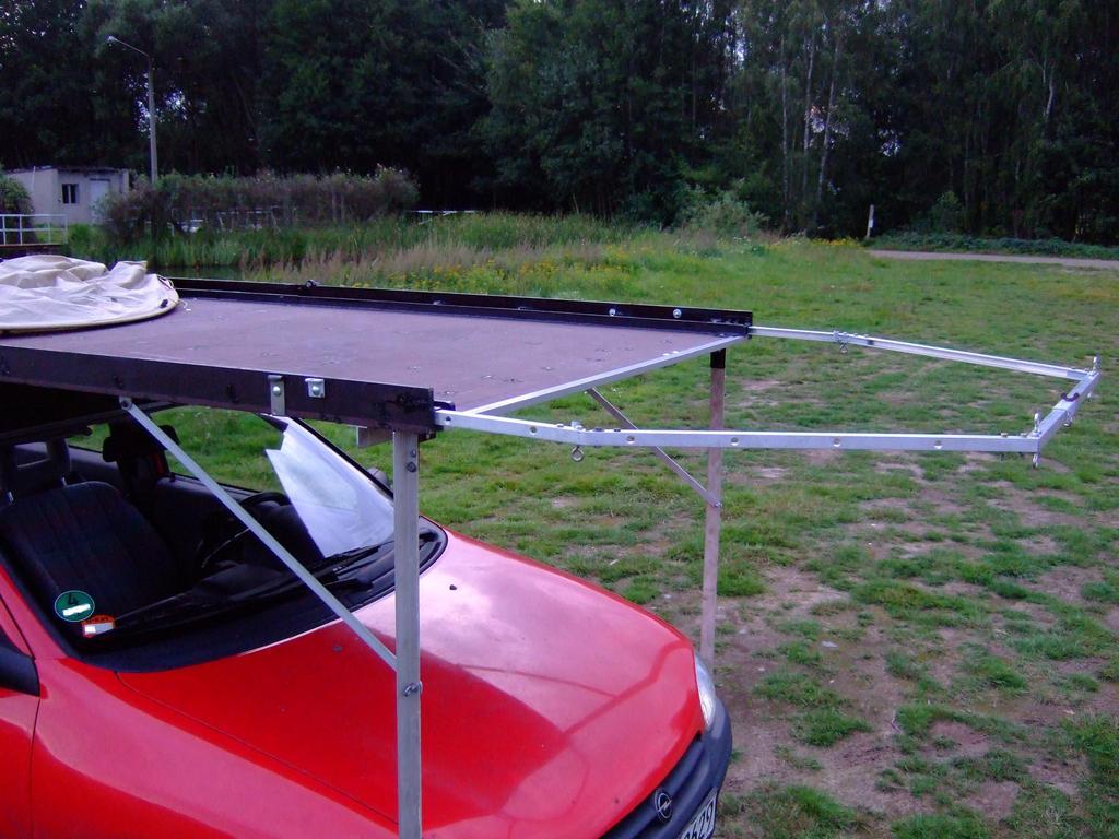 Dachzelt Eigenbau, Auf dem Autodach Zelten - so geht das