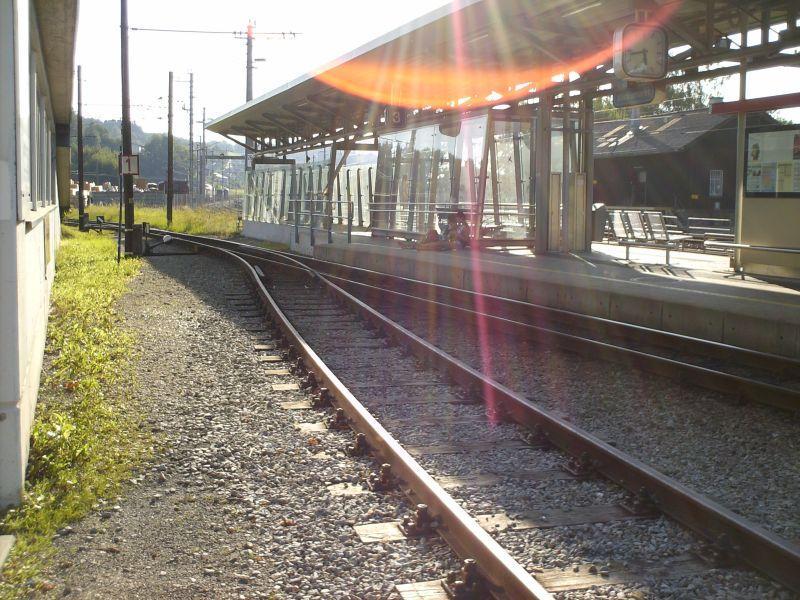 Elektrifizierte Schmalspurbahn Vöcklamarkt - Attersee (Stern & Hafferl) 8469602xgr