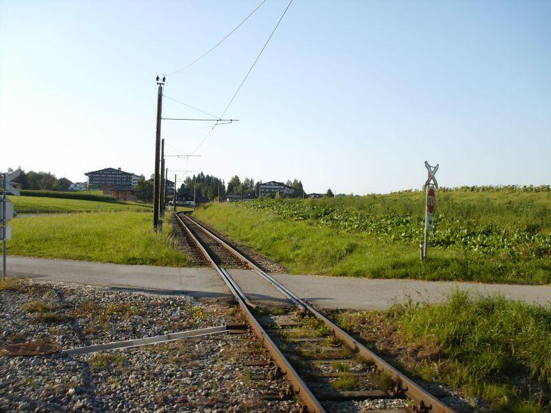 Elektrifizierte Schmalspurbahn Vöcklamarkt - Attersee (Stern & Hafferl) 8469626zcl