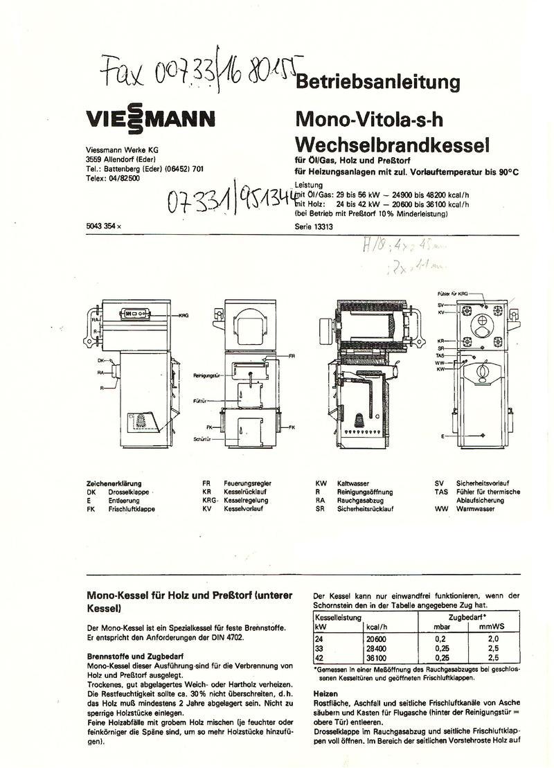 Viessmann - deutsch, deutsch - Viessmann? :o) - HaustechnikDialog