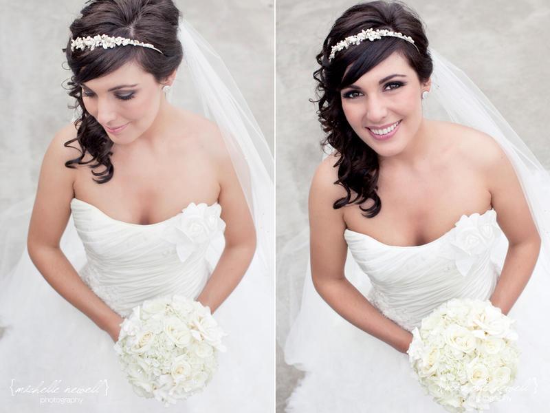 Brautfrisuren locken seitlich