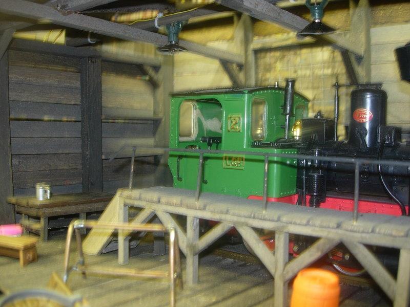 Kleine Lokwerkstatt Spur 1 8484276qsk