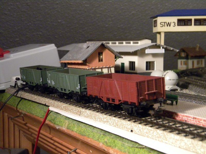Hellau: Kleinbahnmaterial auf 3L-Gleisen von Märklin 8558410wbq