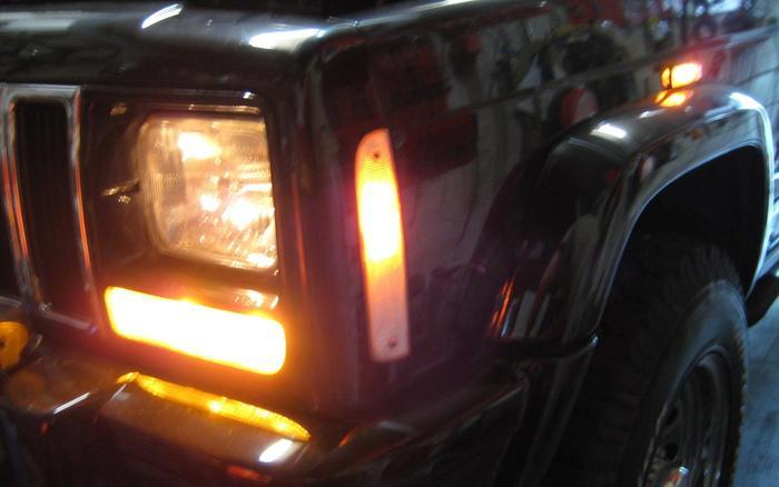 beleuchtung vorne und hinten cherokee xj mj forum jeep forum. Black Bedroom Furniture Sets. Home Design Ideas