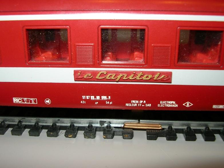 """D-Zug Wagen der SNCF """"Capitole"""" Art.Nr. 4075 8585477bic"""