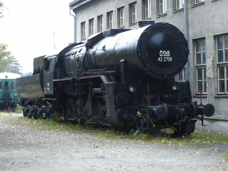 Eisenbahnmuseum Strasshof (Silberwald) - Die Anreise 8594621fuh