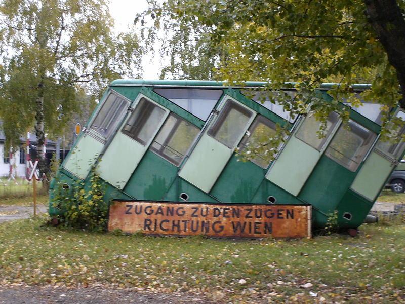 Eisenbahnmuseum Strasshof (Silberwald) - Die Anreise 8594625owv
