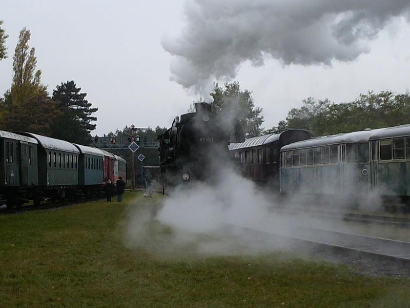 Eisenbahnmuseum Strasshof (Silberwald) - Die Anreise 8594632tpz