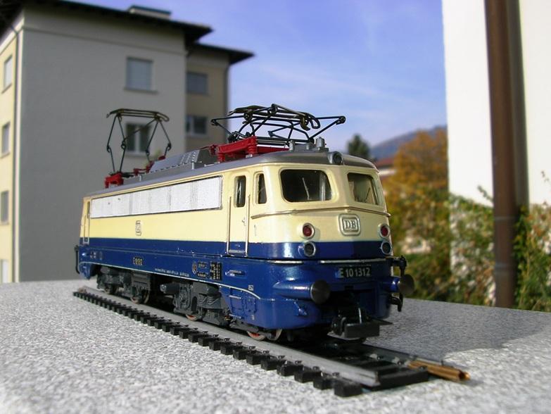 DB E 10 1312 Bügelfalte Rheingold (Guss) 8627950hqe