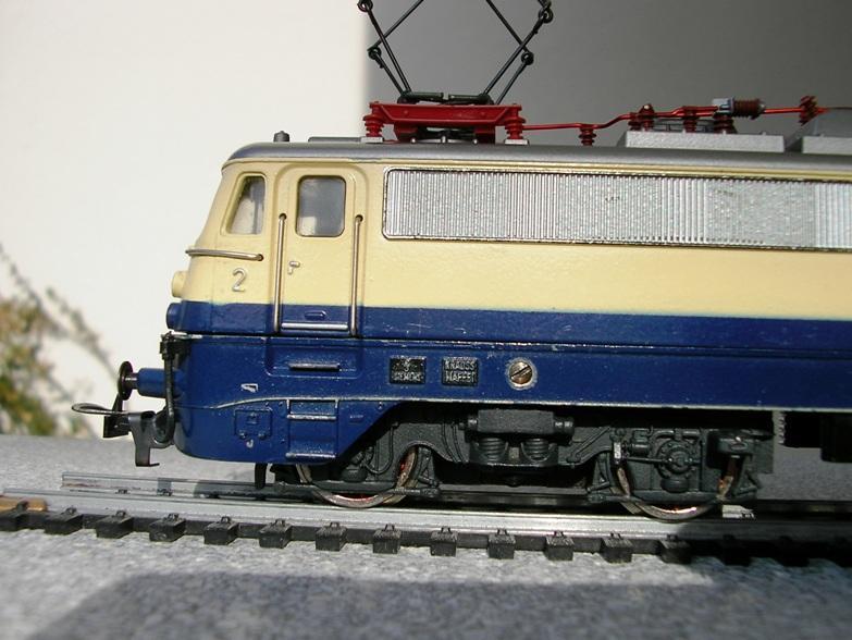 DB E 10 1312 Bügelfalte Rheingold (Guss) 8627951ber