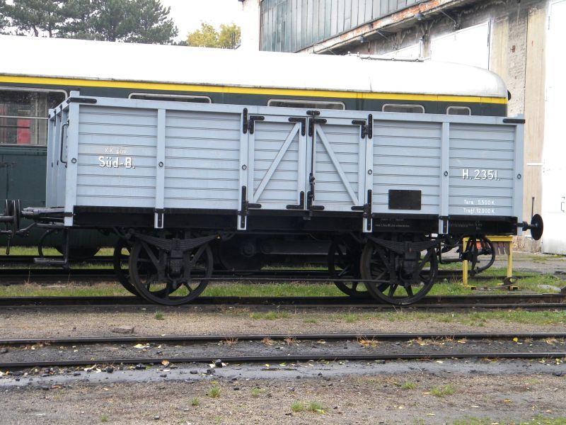 Eisenbahnmuseum Strasshof (Silberwald) - Teil III (Aussenbereich - Großteils Wagen) 8628528zfz