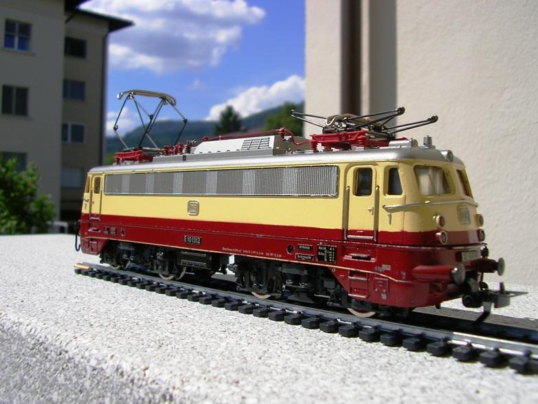 DB E 10 1312 Bügelfalte TEE (Guss) 8628577xte