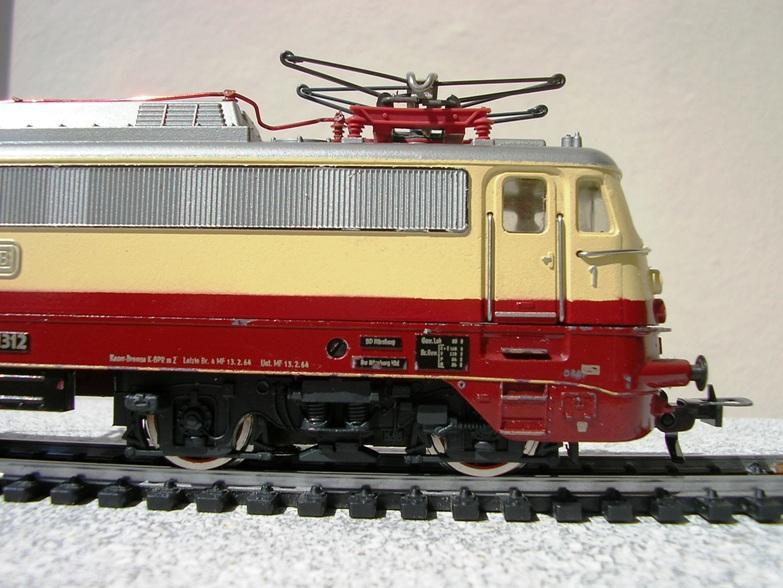 DB E 10 1312 Bügelfalte TEE (Guss) 8628578mtt