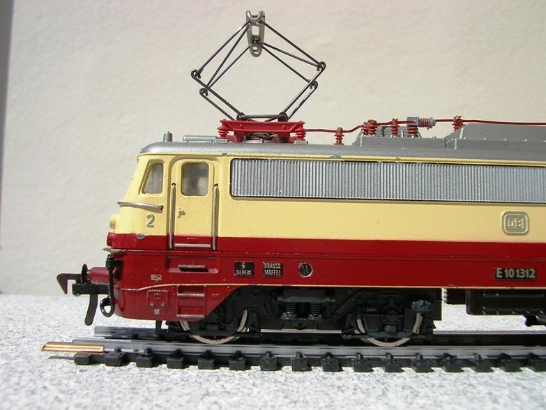 DB E 10 1312 Bügelfalte TEE (Guss) 8628579ful