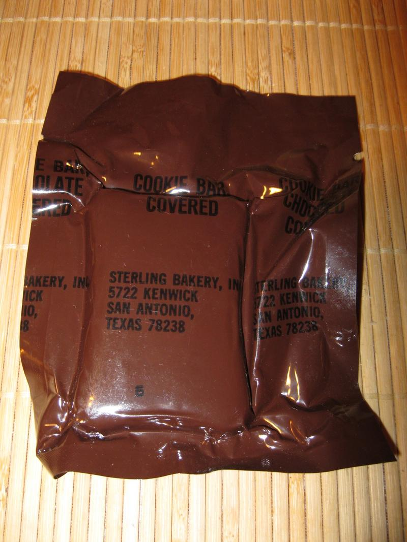 Mre Chocolate Covered Cookie Bar
