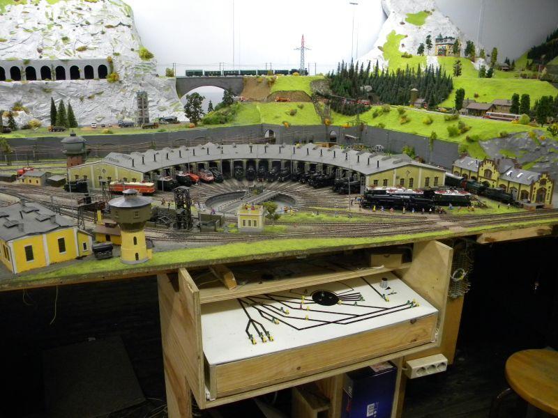 Modellbahnanlage vom Eisenbahnmuseum Strasshof 8684239xgd