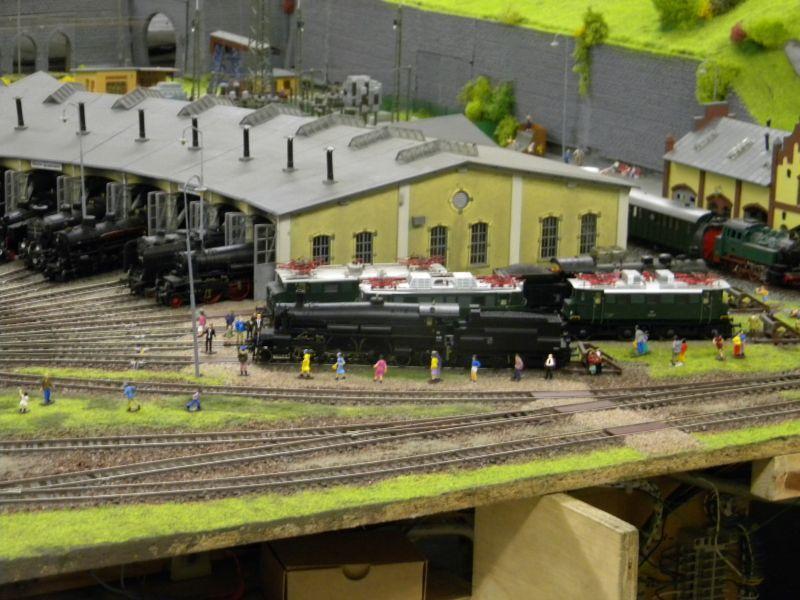 Modellbahnanlage vom Eisenbahnmuseum Strasshof 8684241xxj