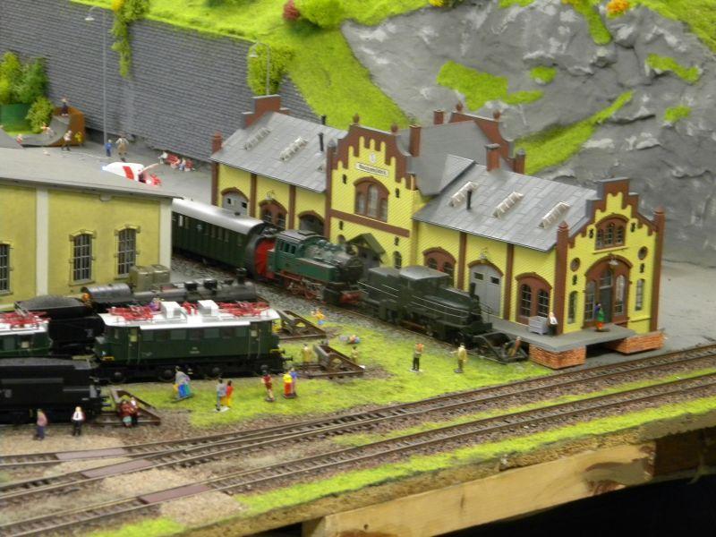 Modellbahnanlage vom Eisenbahnmuseum Strasshof 8684242nny