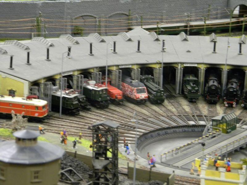 Modellbahnanlage vom Eisenbahnmuseum Strasshof 8684244slh