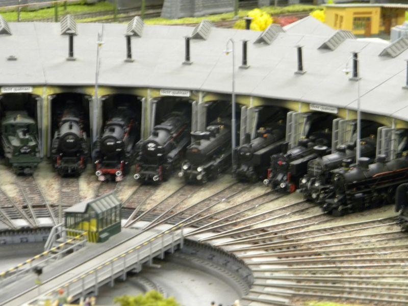 Modellbahnanlage vom Eisenbahnmuseum Strasshof 8684245ylz