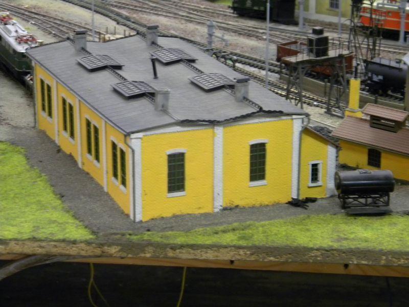 Modellbahnanlage vom Eisenbahnmuseum Strasshof 8684247yev