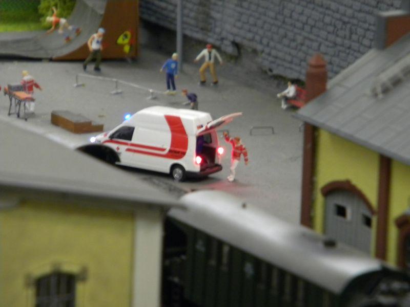 Modellbahnanlage vom Eisenbahnmuseum Strasshof 8684250gyo
