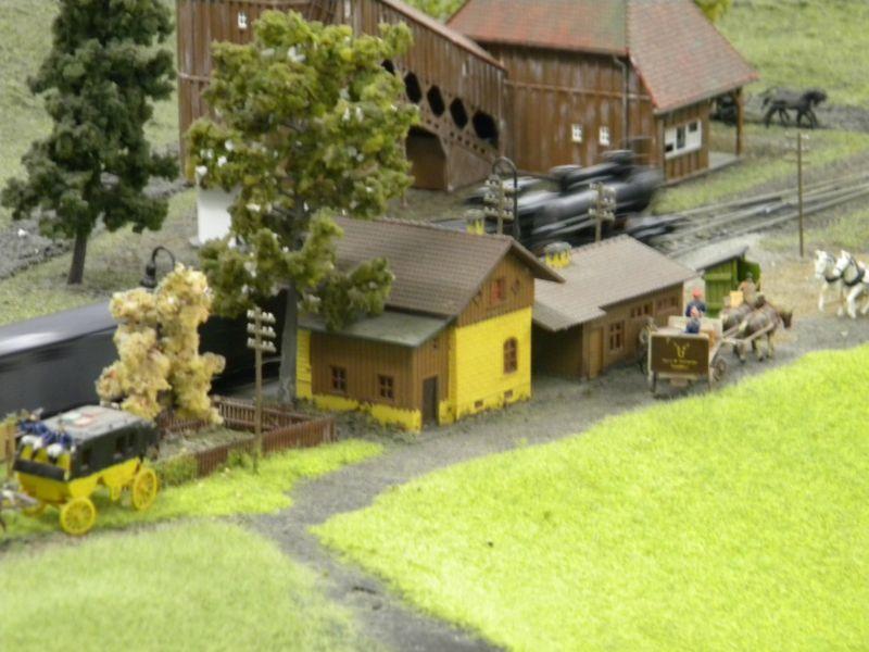 Modellbahnanlage vom Eisenbahnmuseum Strasshof 8684273ele
