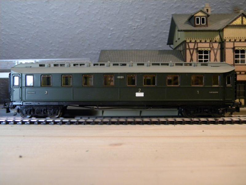 Kleinbahn 384 D-Zugwagen 1910 grün 8700163koo